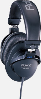 Roland RH-200 Monitor Grade Closed Stereo Headphones