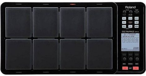Roland SPD-30BK 8-Pad Parcussion Pad With Loop Function (Black)