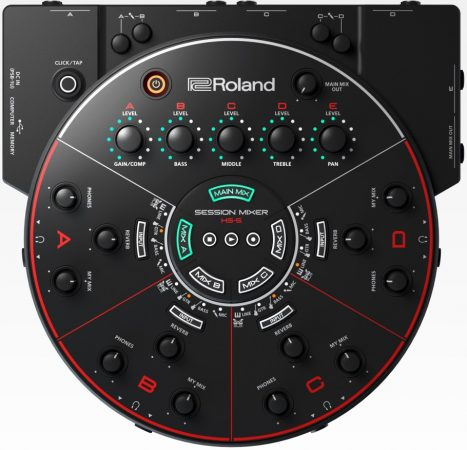 Roland HS-5 5 INPUT SESSION MIXER FOR REHEARSAL AND RECORDING