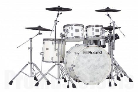 Roland VAD-706-PW Kit V-Drums Acoustic Design Kit - Pearl White Finish