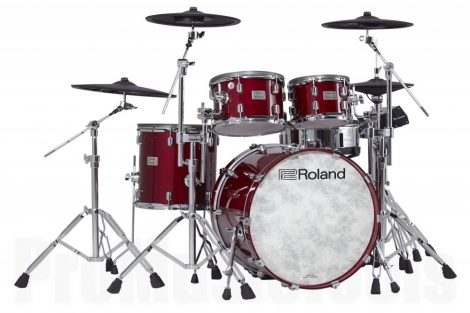 Roland VAD-706-GC Kit - V-Drums Acoustic Design Kit - Glossy Cherry Finish
