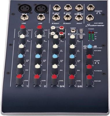 Studiomaster C2-2, 6 Chanel compact Mixer