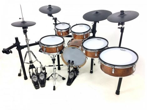 PADTECH STAGE 243S walnut Edrum kit